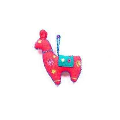 D 26 AK RED - Goat Keyring