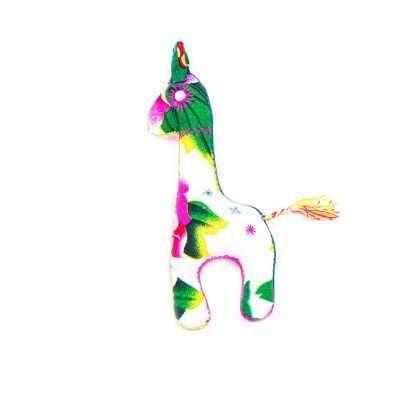 D 29 AK..1 - Giraffe Akha Keyring