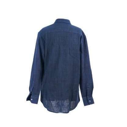 Shirt 35 M A1 back - Men Cotton Long Sleeve Shirt